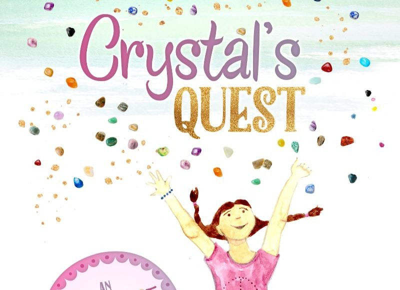 Love rocks and gemstones? Then Crystal's Quest is for you! This fun (and funny) story revolves around Crystal and her beagle buddy, Noodle. Crystal shares her knowledge and insights about gemstones to encourage and inspire new friends like Quackers the Duck, Bandit the Goat and many more! Perfect of the young reader ages 8-10.