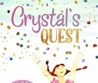 Get your copy of Crystal's quest with a set of Crystal's gemstones! You'll receive one of each – Rhodonite, Chrysocolla, Mookaite, Orange Calcite, Black Tourmaline, Selenite. ONLY $26!