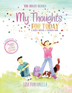 A fun and inspirational children's journal complete with doodle pages, coloring pages and lined journal pages. Ages 6 and up.